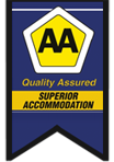 Stoneridge Guesthouse are AA Quality Assured Accomodation